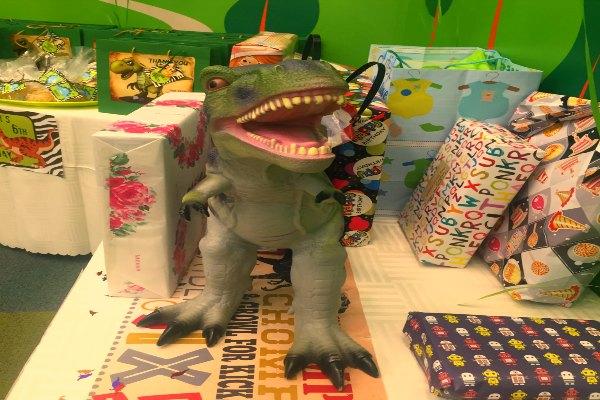 Bye Bye from T-Rex