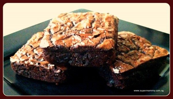 SuperMommy's Favorite Chocolate Brownie Recipe