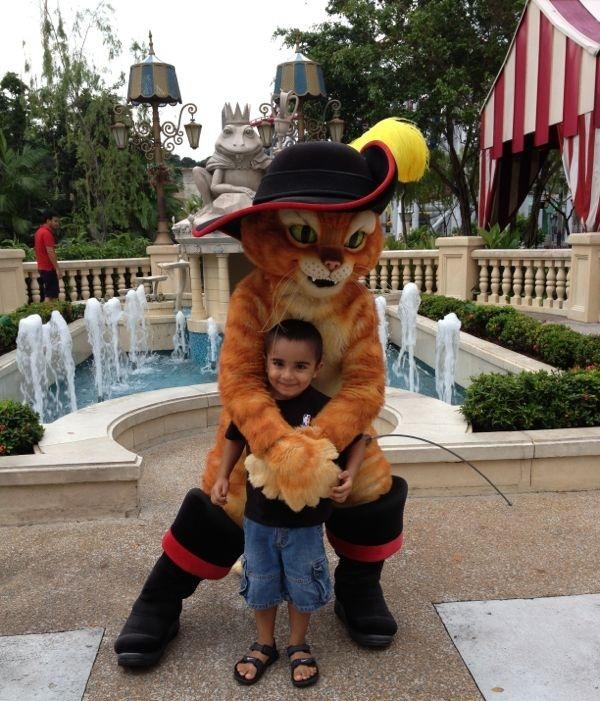 Universal Studios Singapore With Children