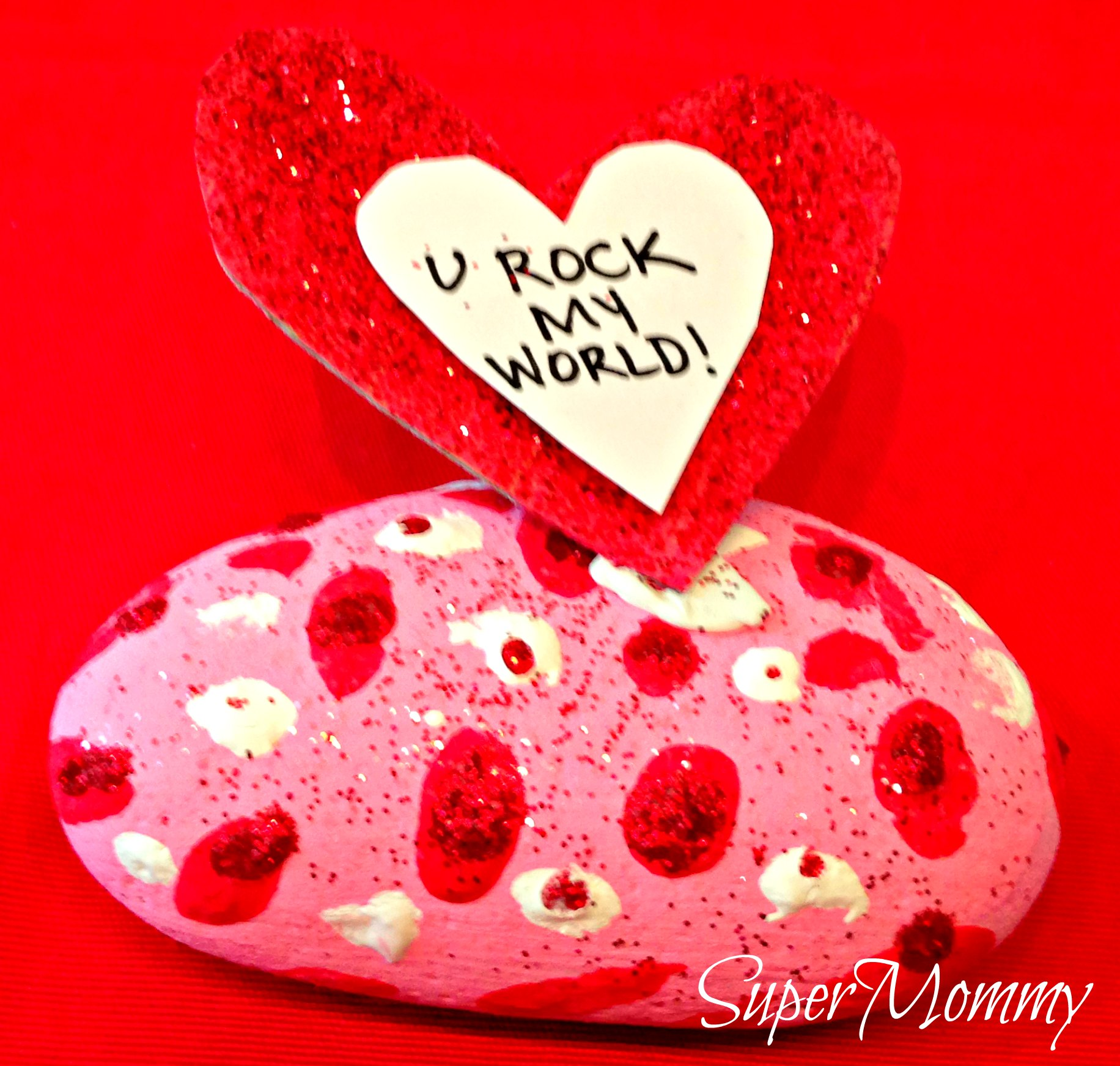 valentine u0027s day easy craft for kids conversation rocks