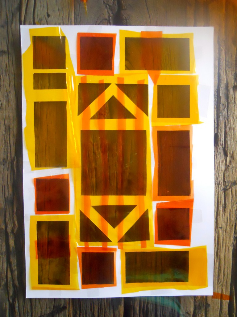 Make Your Own Stained Glass Window Easy Kid S Craft Idea