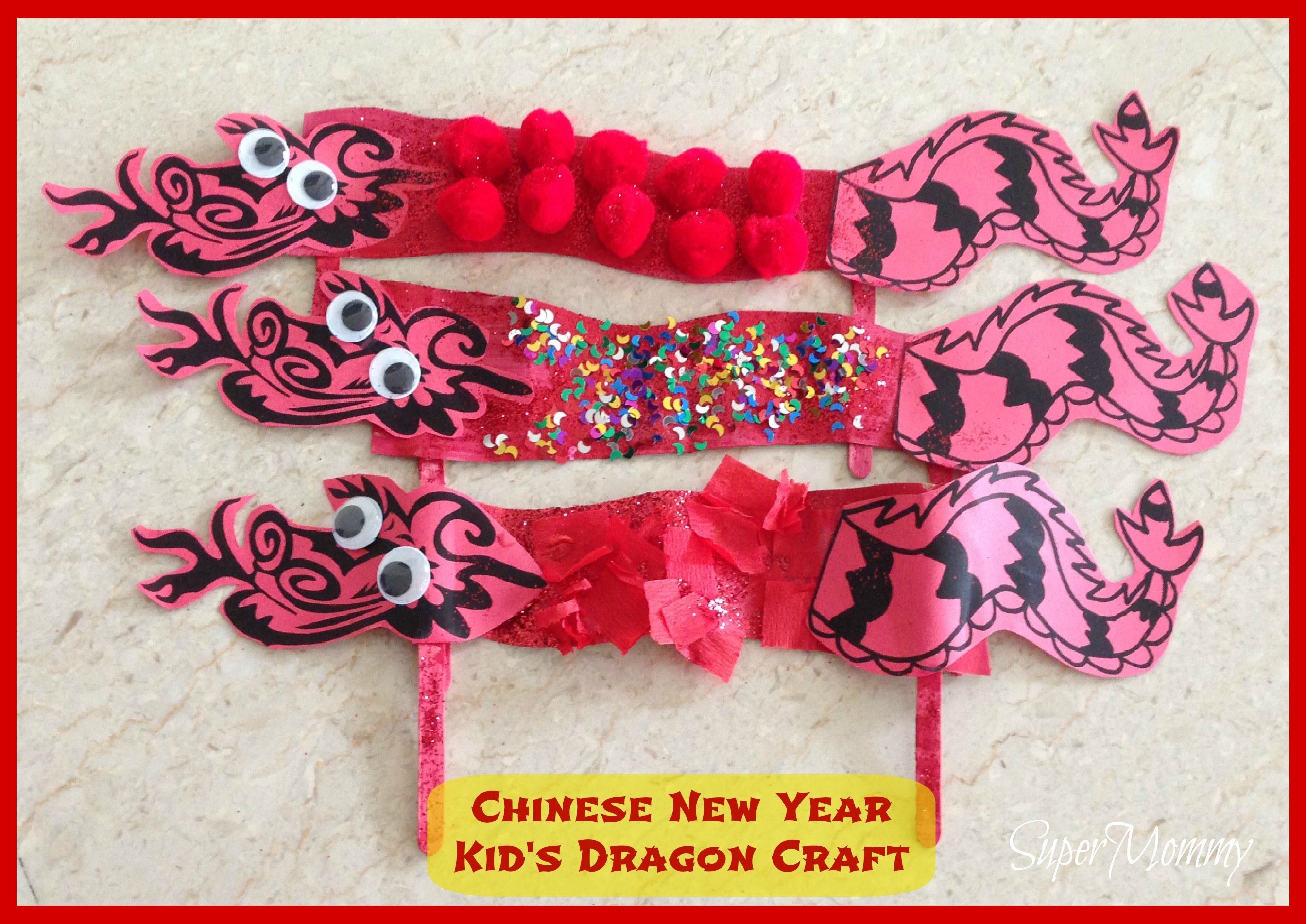 New Year Craft Ideas For Kids Part - 47: SuperMommy