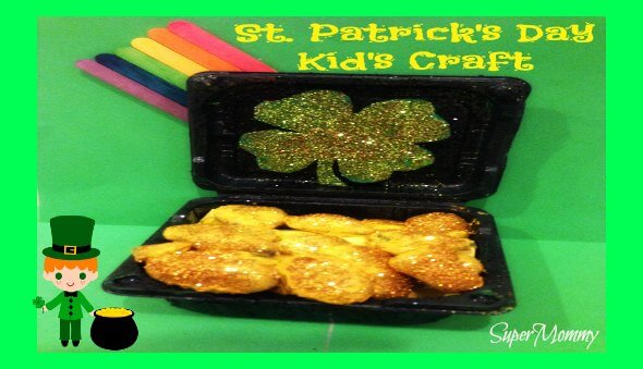 "Lucky Leprechaun's ""Pot of Gold"" Kid's Craft"