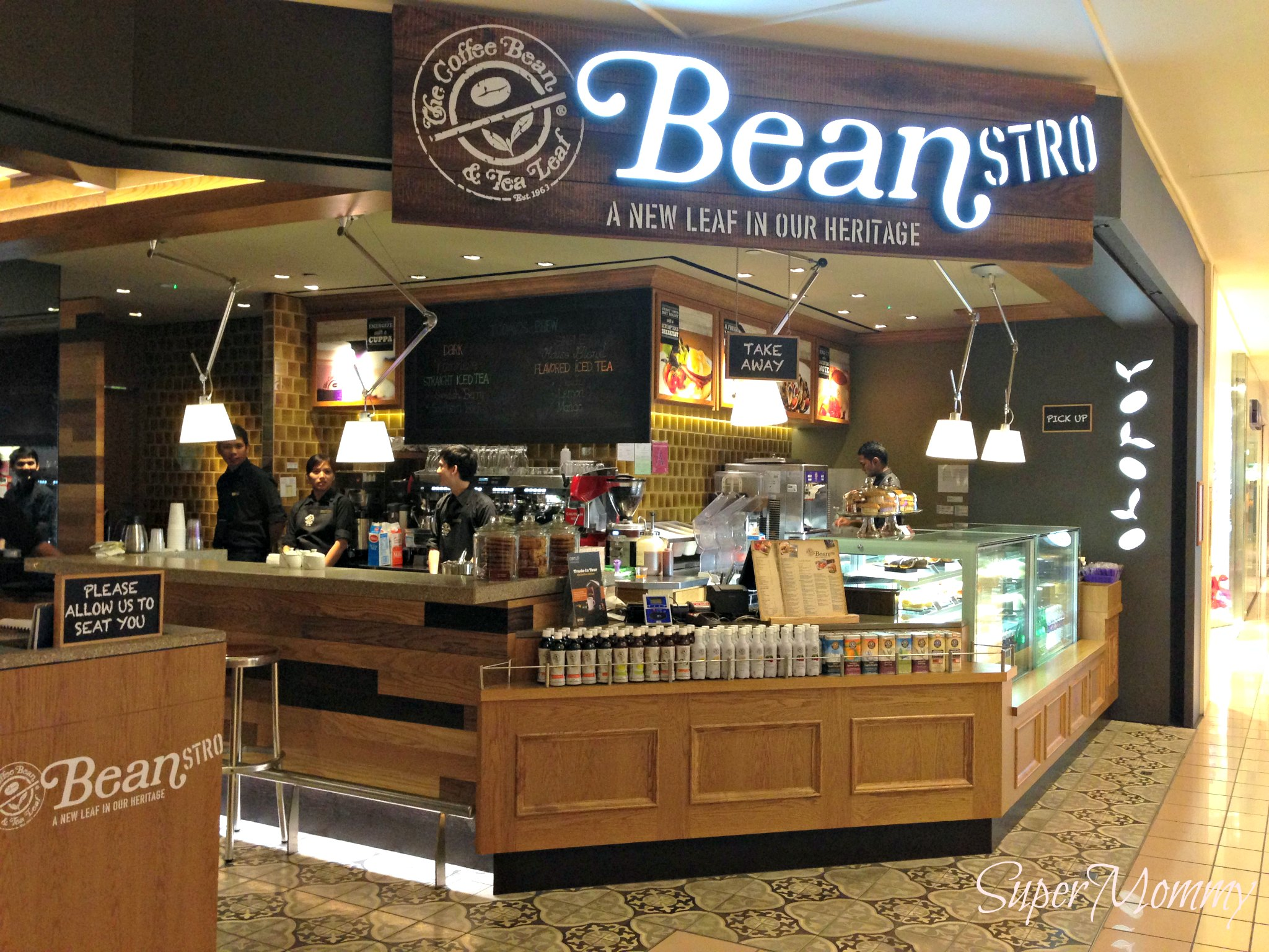 Beanstro by coffee bean a new american style restaurant for American cuisine restaurants