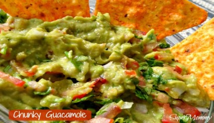 Healthy Guacamole Recipe - Kids & Family