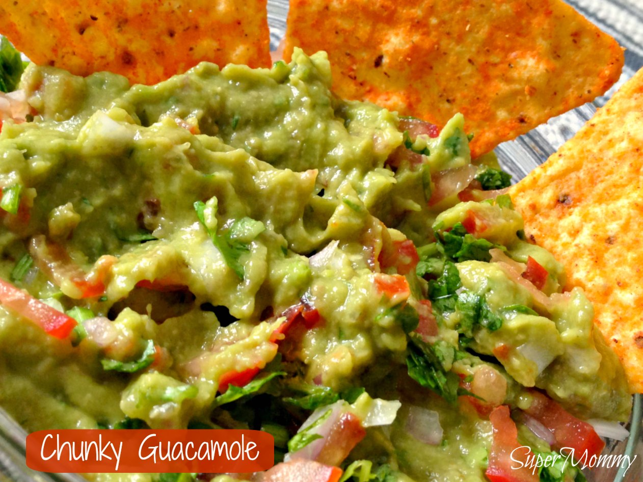 Chunky guacamole recipe a healthy food for kids and adults guacamole forumfinder Images