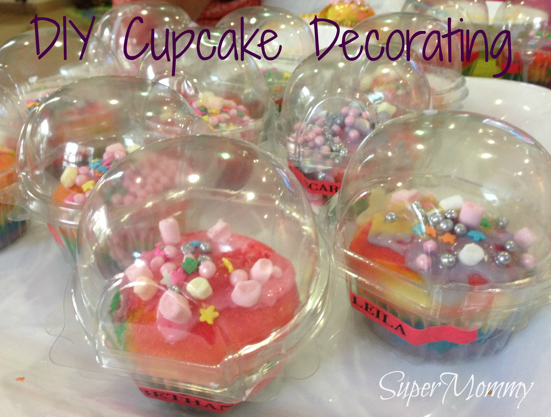 Cupcake Decorating Ideas Birthday : 20+ DIY/Craft Ideas for Your Kid s Birthday Party