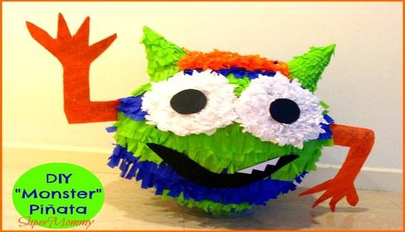 DIY Monster Pinata