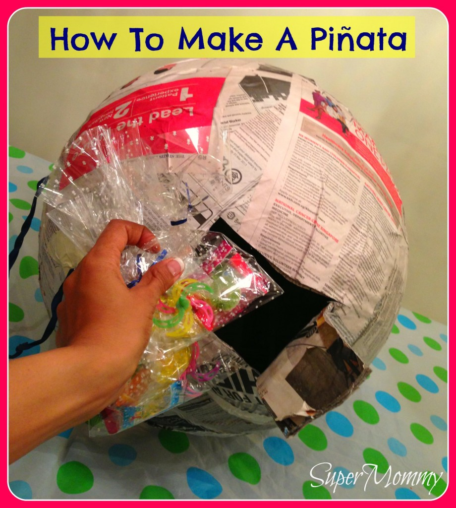 How to make decorate a monster pinata for Things to make out of construction paper