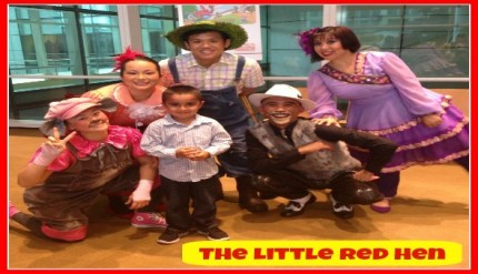 The Little Red Hen - iTheatre Production in Singapore