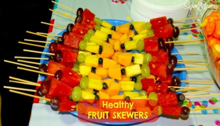 Fruit On A Stick - A Great Kid's Party Food Idea