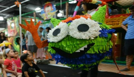 Monster Rock Pinata