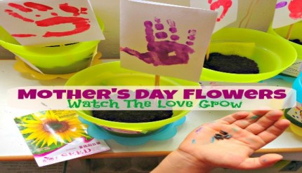 Mother's Day Flowers - Easy Craft Activity & Gift Idea for Kids