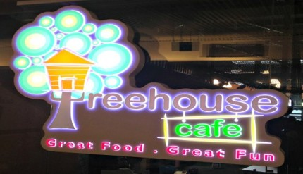 Treehouse Cafe - The Grandstand - Turf City - Child Friendly Restaurant