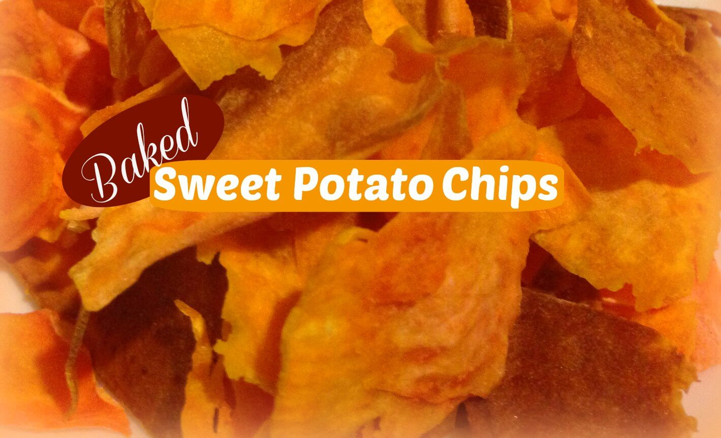 Baked Sweet Potato Chips Recipe