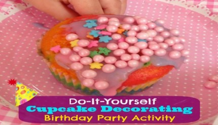 DIY Cupcake Decorating - Birthday Party