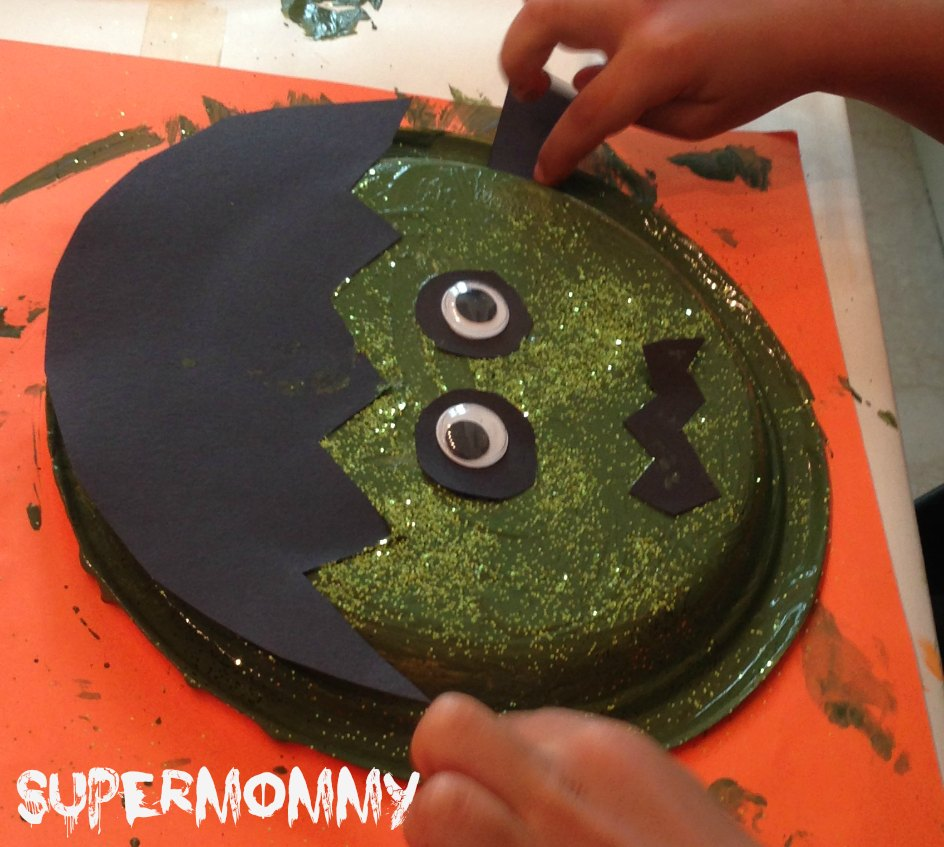 Frankenstein halloween easy kids craft step jeuxipadfo Image collections