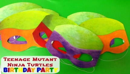 Teenage Mutant Ninja Turtle Boys Birthday Party Theme
