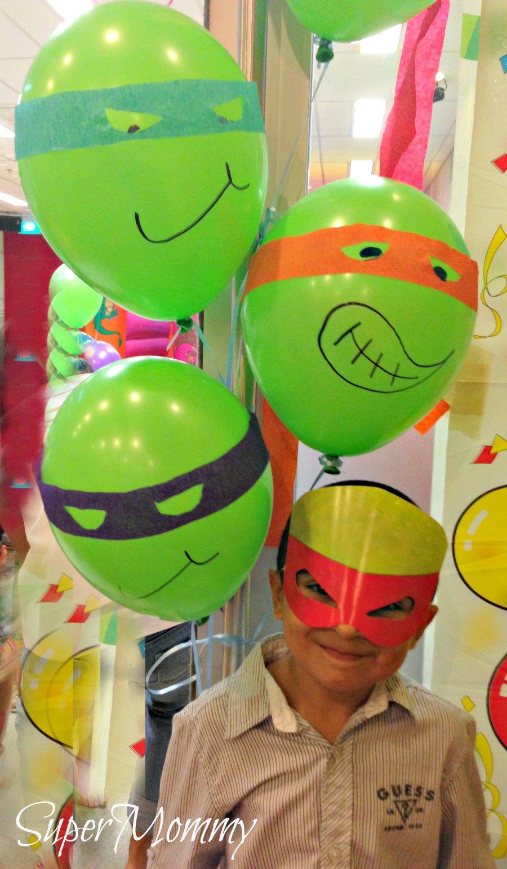 Boys Birthday Party Theme Teenage Mutant Ninja Turtles