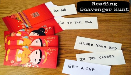 Reading Scavenger Hunt - Learn to Read