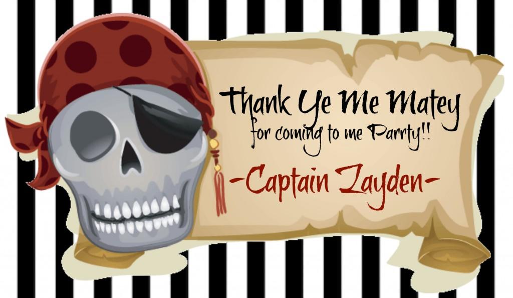 Printable Pirate Birthday Invitations as nice invitation design