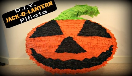 Halloween Jack-O-Lantern Party Pinata