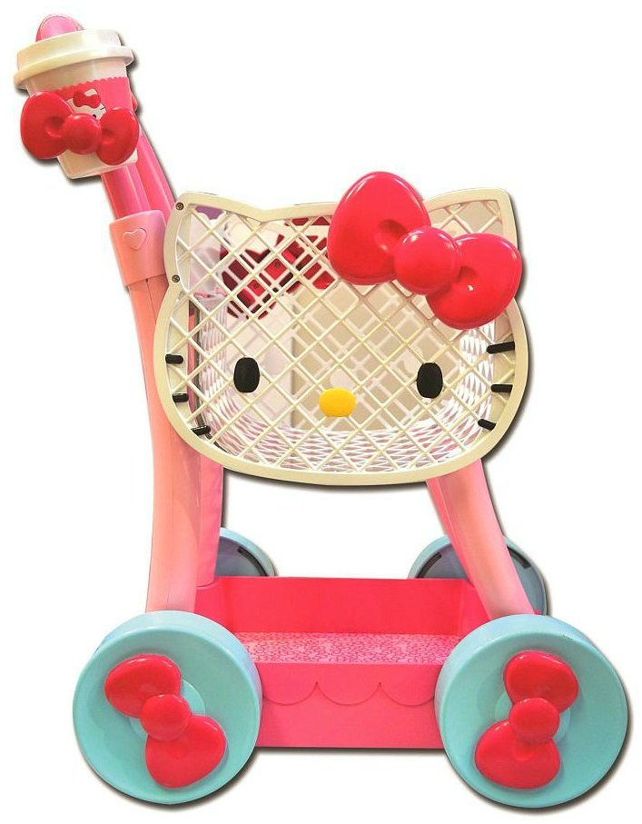 Hello Kitty Shopping Cart