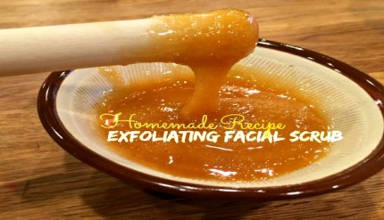 Exfoliating Facial Scrub Recipe