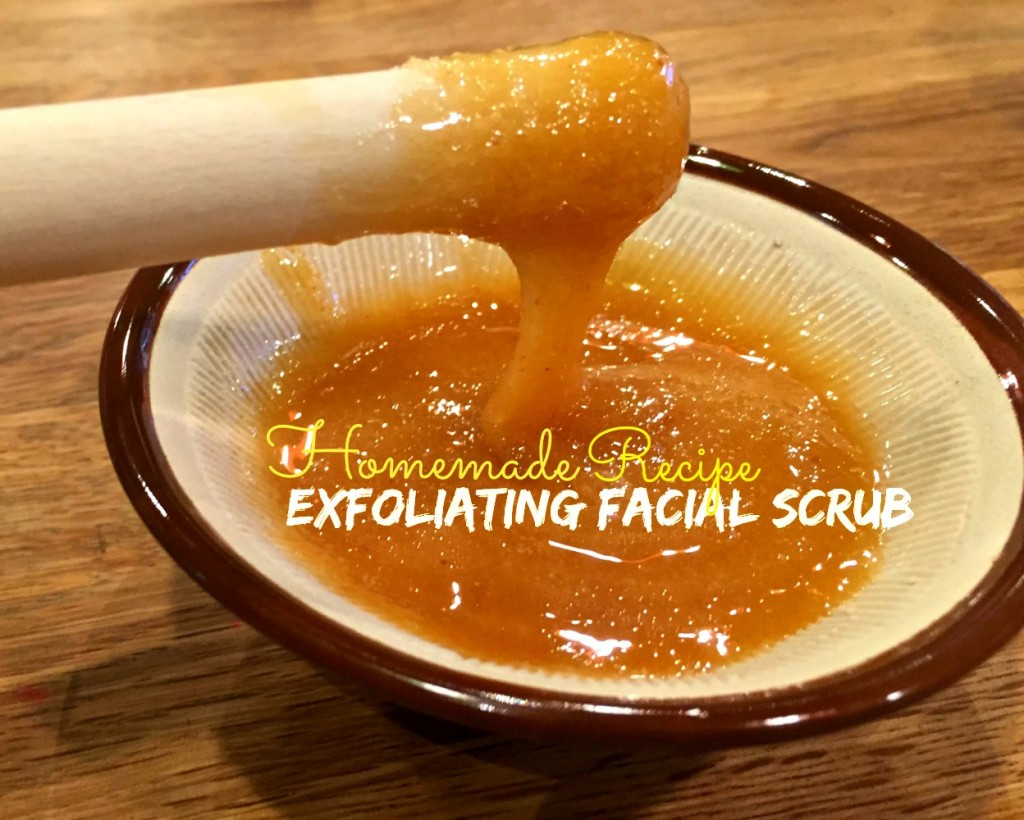 Homemade Exfoliating Facial Scrub