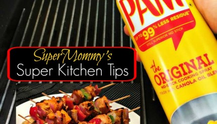 Super Kitchen Tips PAM Cooking Spray