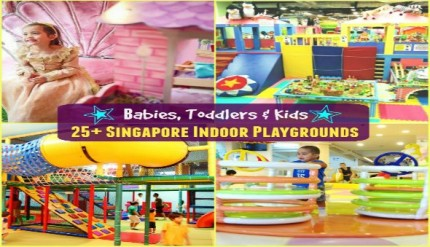 Best Indoor Playgrounds Singapore for Babies, Toddlers & Kids