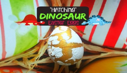 Dinosaur Themed Birthday Party Ideas Hatching Dino Eggs