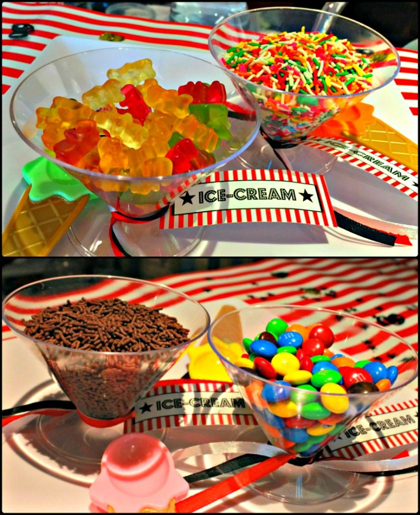 Movie Night Themed Kids Birthday Party Ice Cream Bar