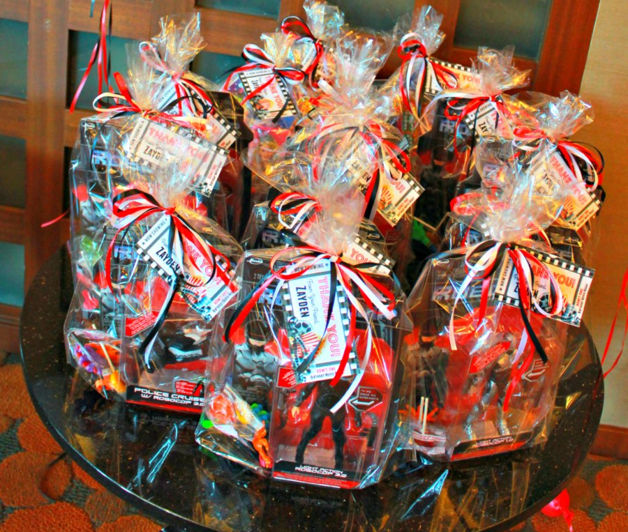 Movie Night Themed Kids Birthday Party Goodie Bags