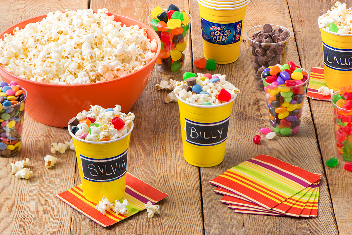 Beau DIY Popcorn Bar Party Wedding Birthday Movie Night Party Ideas
