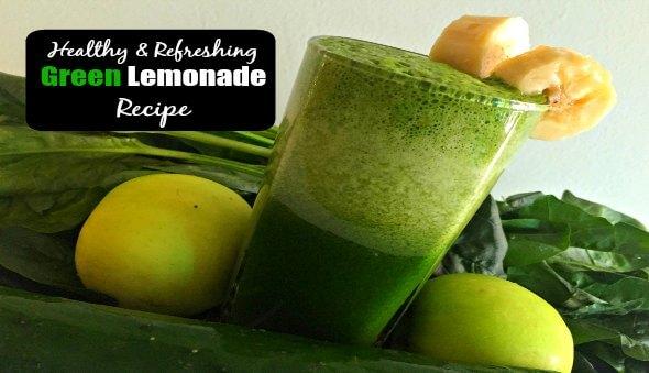 "Healthy ""Green"" Lemonade Recipe"