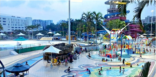 Singapore Waterpark Swimming Kids Toddler Outdoor Playground
