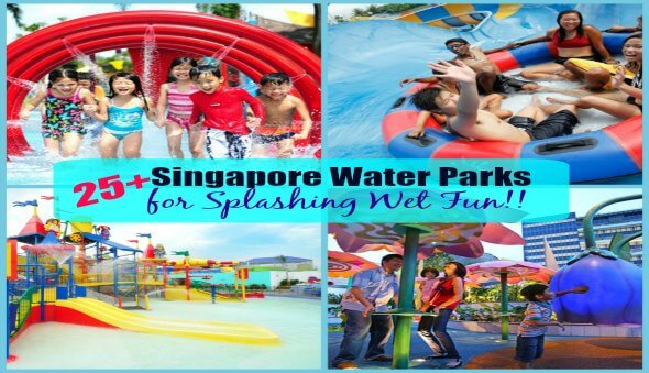 25+ Singapore Water Play Areas for Some Splashing Fun!