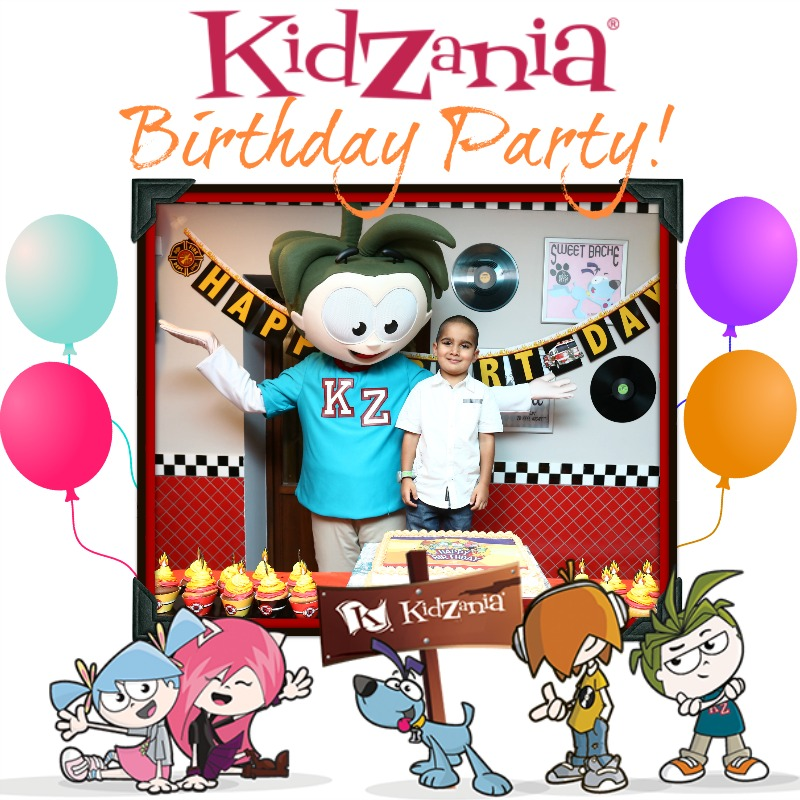KidZania Singapore Kids Unique Birthday Party Venue