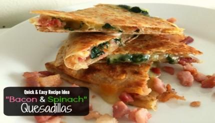Bacon Cheese Quesadillas Recipe 2