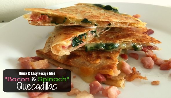 Bacon Cheese Quesadillas Recipe 2