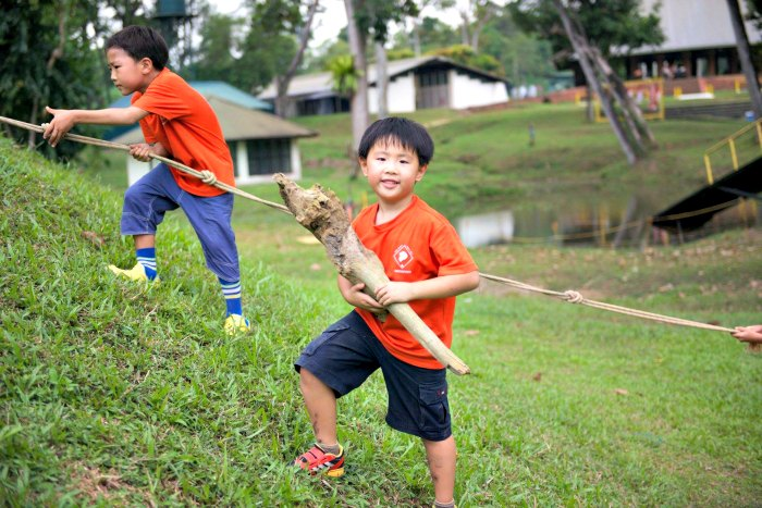 Cub Scouts of America Singapore Camping