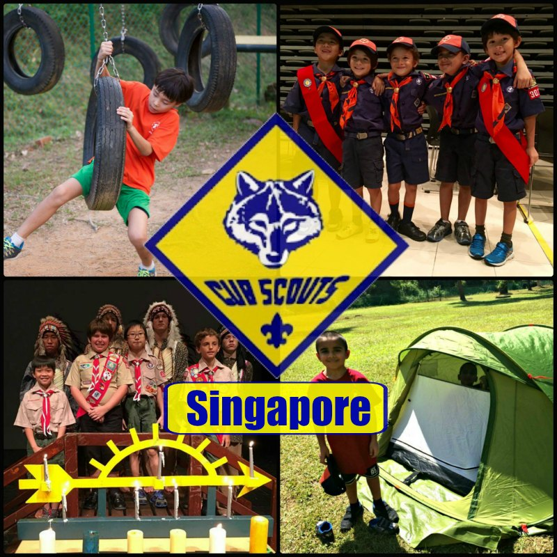 Cub Scouts of America Singapore Registration Boy Scouts