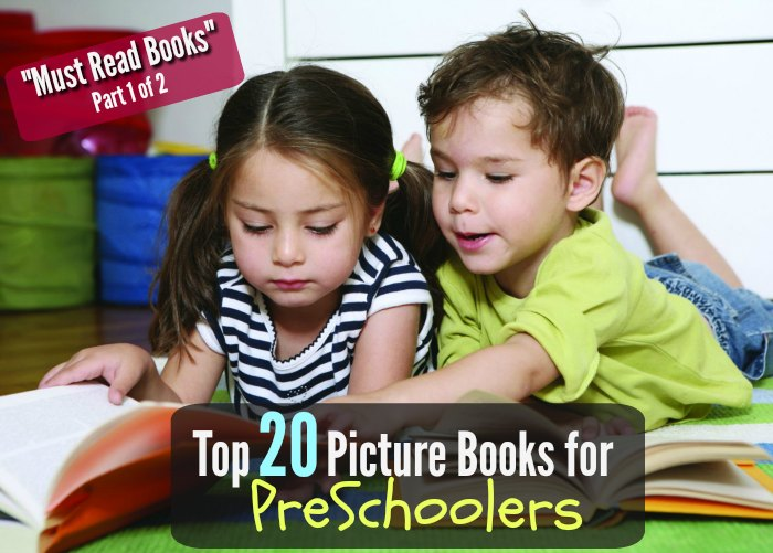 Must Read Books for Preschoolers
