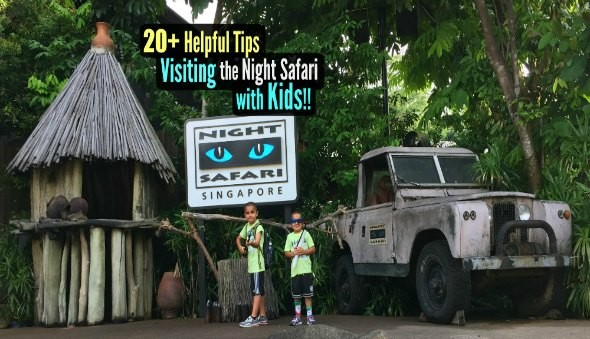 Singapore Night Safari with Children
