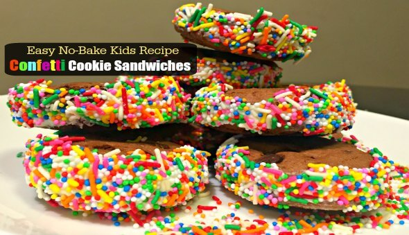 Easy Confetti Cookie Sandwiches Recipe