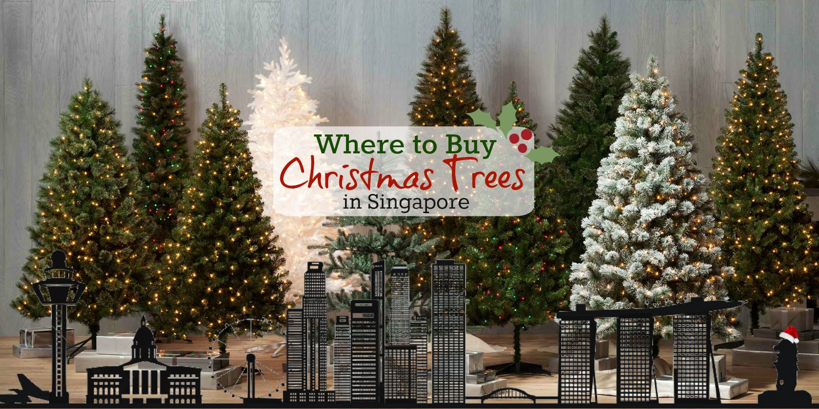 Where to Buy Christmas Trees & Decorations in Singapore
