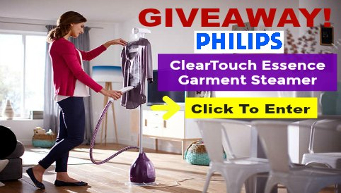 Philips Steamer Giveaway