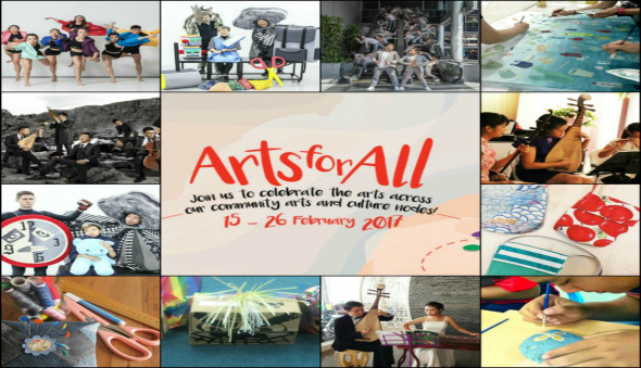 NAC Arts for All Kids Art Dance Theatre Classes Activities Free Singapore