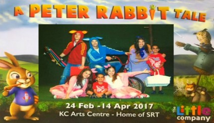 A Peter Rabbit Tale Kids SRT Theatre Singapore Promotions Discounts